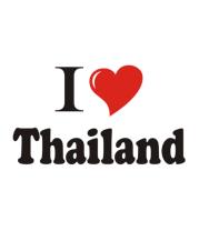 Мужская майка I love thailand