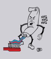 Толстовка Зубная паста