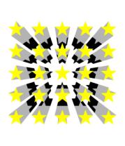 Толстовка без капюшона Звезды