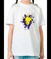 Детская футболка  Лицо
