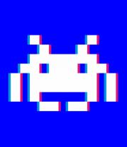 Детская футболка  Стерео пиксель