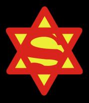 Толстовка Супер Еврей