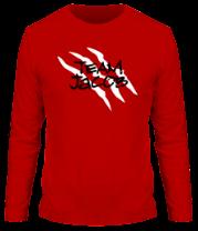Мужская футболка с длинным рукавом Team Jacob