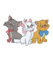 Детская футболка  Коты аристократы