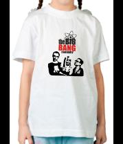 Детская футболка  Теория большого взрыва