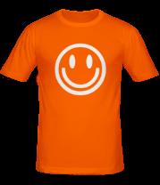 Мужская футболка  Смайл