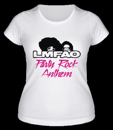 Женская футболка  LMFAO Party Rock Anthem