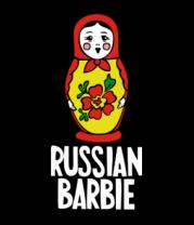 Женская футболка с длинным рукавом Russian Barbie