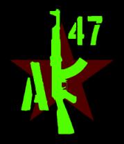 Мужская майка АК-47 Русский огонь