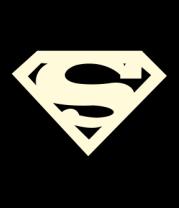 Женская футболка с длинным рукавом Superman