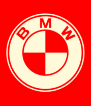 Мужская футболка  BMW (cвет)