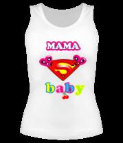 Женская майка борцовка Supermama