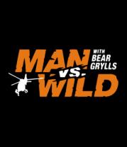 Детская футболка  Man vs. Wild with Bear Grylls