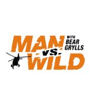 Женская футболка  Man vs. Wild with Bear Grylls