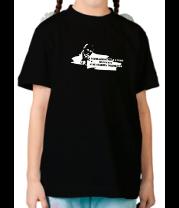 Детская футболка  Путин - глобальный мир