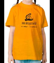 Детская футболка  Водолей