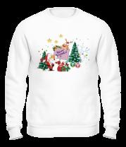 Толстовка без капюшона Merry Christmas