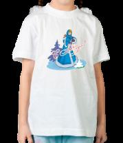Детская футболка  Snegurka