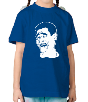 Детская футболка  Яо Минь
