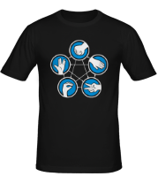 Мужская футболка  Правила игры