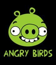 Женская майка борцовка Angry Birds