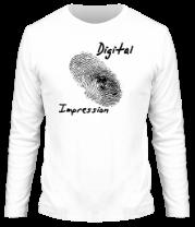 Мужская футболка с длинным рукавом Digital Impression