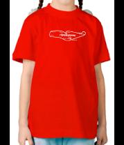 Детская футболка  Трасса TopGear