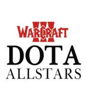 Мужская футболка с длинным рукавом Warcraft dota