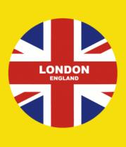 Детская футболка  London