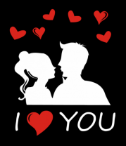 Толстовка I love you