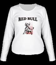 Женская футболка с длинным рукавом Red Bull