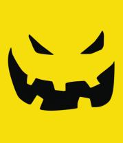 Детская футболка  Halloween smile