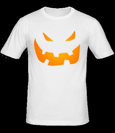 Мужская футболка  Halloween smile
