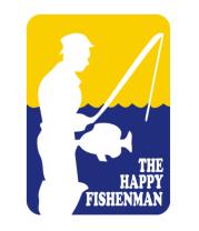 Футболка поло мужская Счастливый рыбак