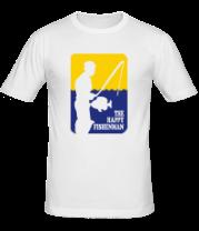Мужская футболка  Счастливый рыбак
