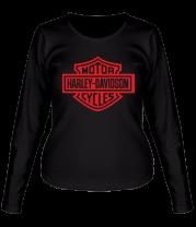 Женская футболка с длинным рукавом Harley-Davidson