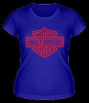 Женская футболка  Harley-Davidson