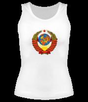 Женская майка борцовка СССР