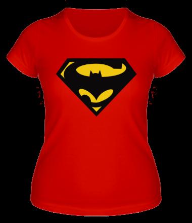 Женская футболка  Super Batman