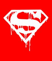 Детская футболка  Кровавый супермен