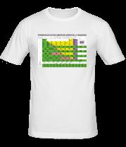 Мужская футболка  Таблица Менделеева