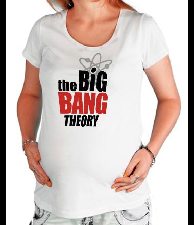 Футболка для беременных the Big Bang Theory