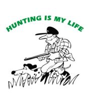 Детская футболка  Охота - моя жизнь