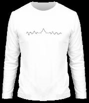 Мужская футболка с длинным рукавом Город