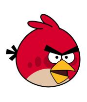 Мужская футболка с длинным рукавом Angry Birds