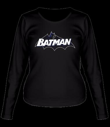 Женская футболка с длинным рукавом Batman true