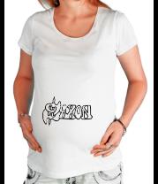 Футболка для беременных Saxon