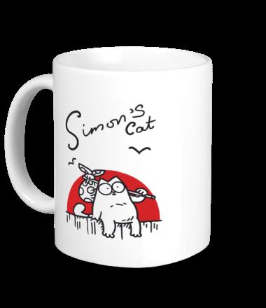 Кружка Simon's Cat