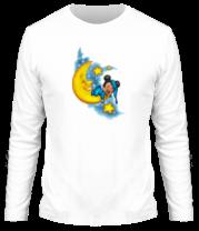 Мужская футболка с длинным рукавом Mickey спит