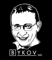 Женская футболка с длинным рукавом Быков